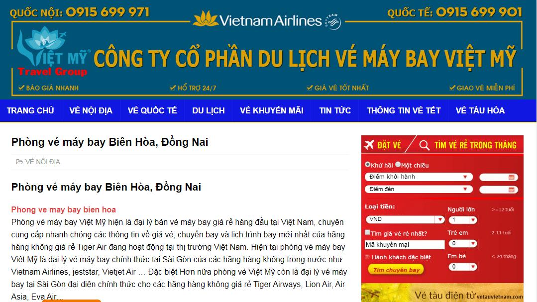 Phòng Vé Việt Mỹ