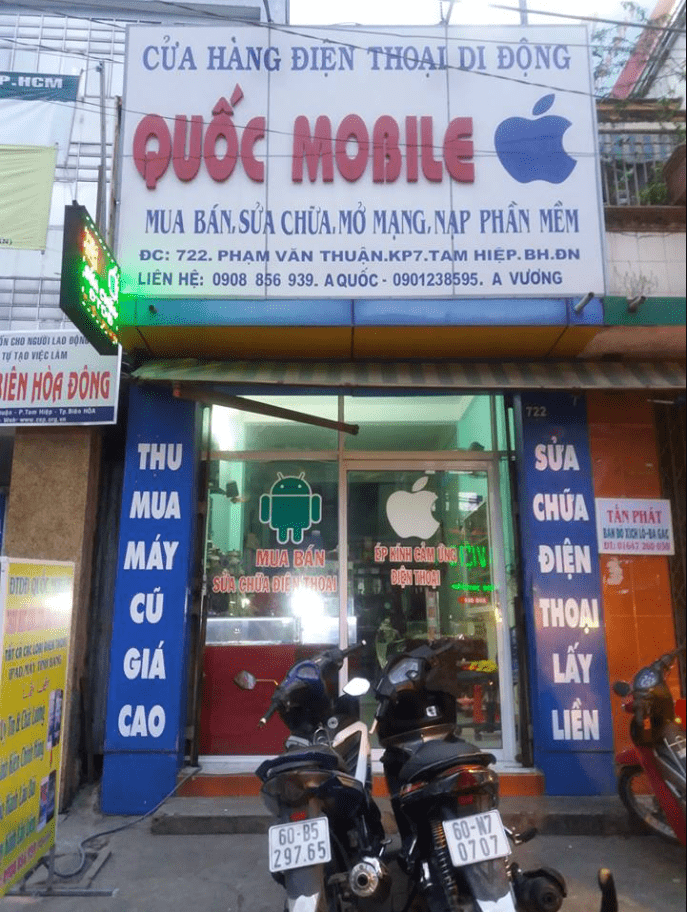 sửa iphone Biên Hòa