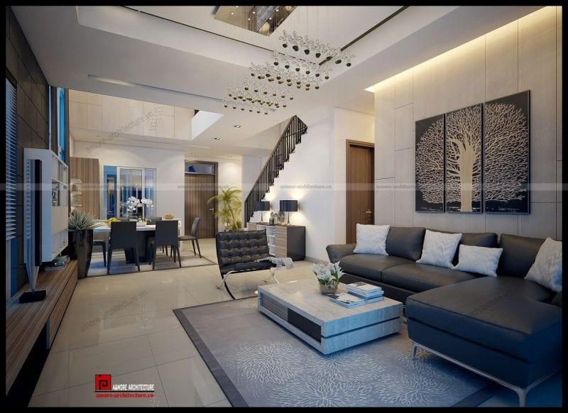 Thiết kế nội thất tân cổ điển đẹp A&More