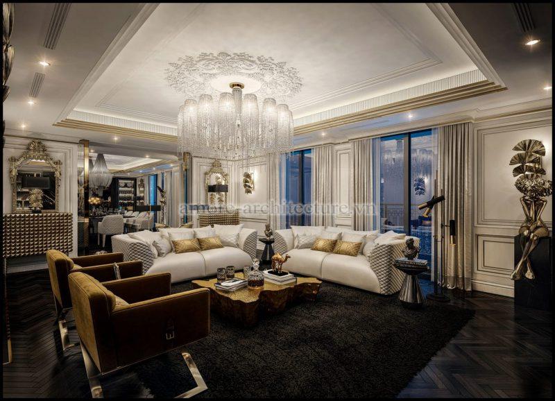 Thiết kế nội thất tân cổ điển đẹp