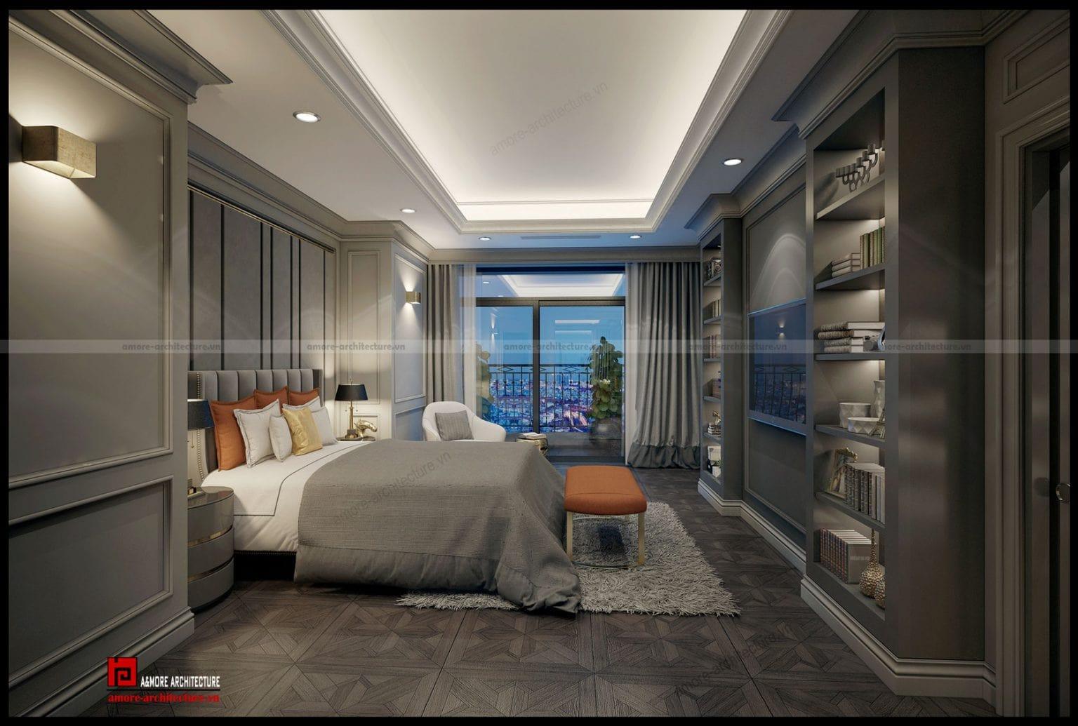 Thiết kế nội thất tân cổ điện đẹp