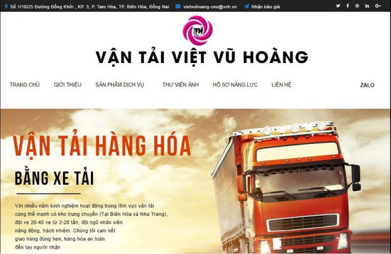dịch vụ vận tải Đồng Nai