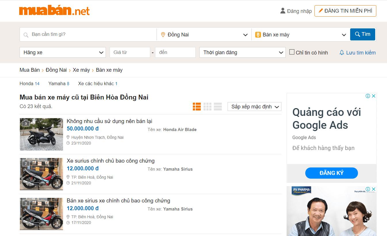 Mua Bán Đồng Nai