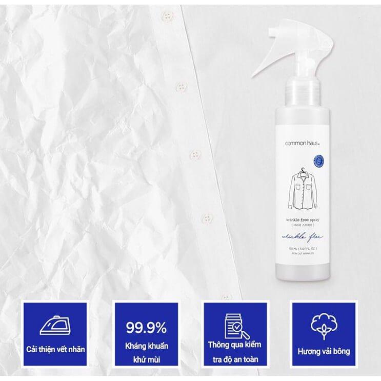 Thẳng Quần Áo Đa Năng Common Haus Wrinkle Free Spray GomiStore