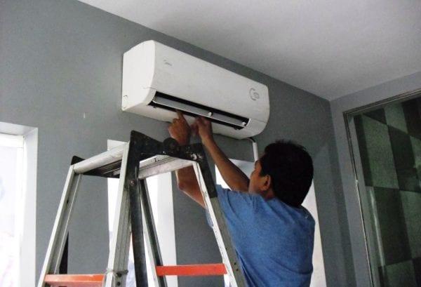 sửa máy lạnh Bình Dương