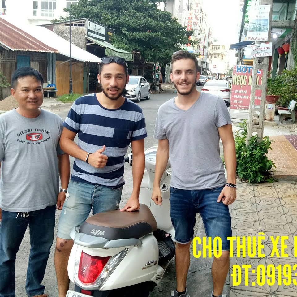 Cho thuê xe máy sân bay Cần Thơ