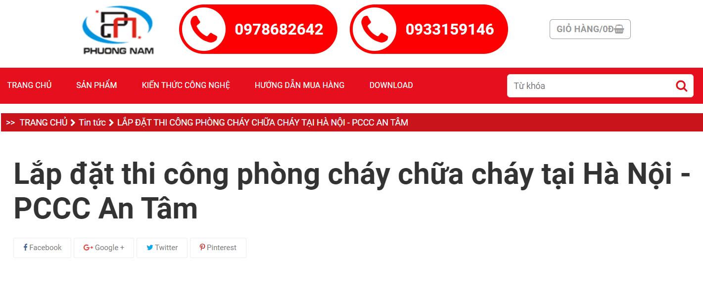 PCCC Phương Nam