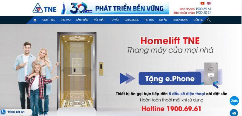 Công Ty Thang Máy Thiên Nam