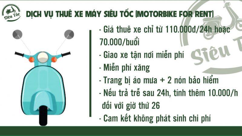 Motobike for rent