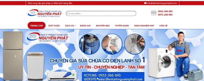 Cơ Điện Lạnh Nguyễn Phát