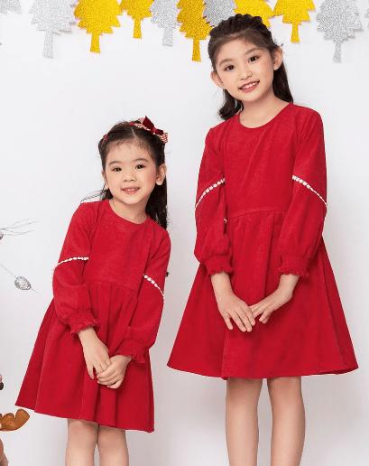 Váy đầm thô nhung