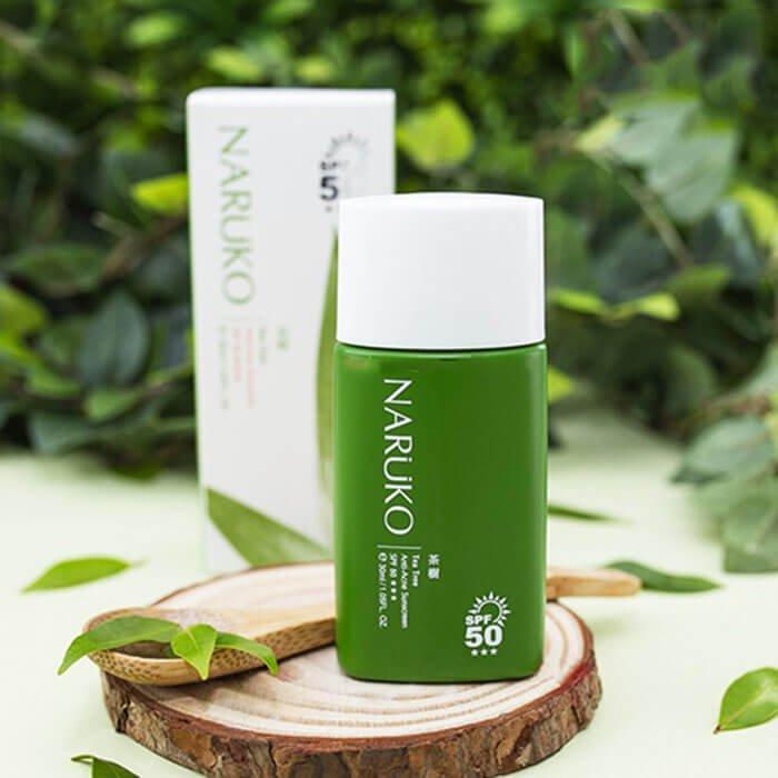 Naruko Tea Tree Anti Acne Sunscreen SPF50 30ML