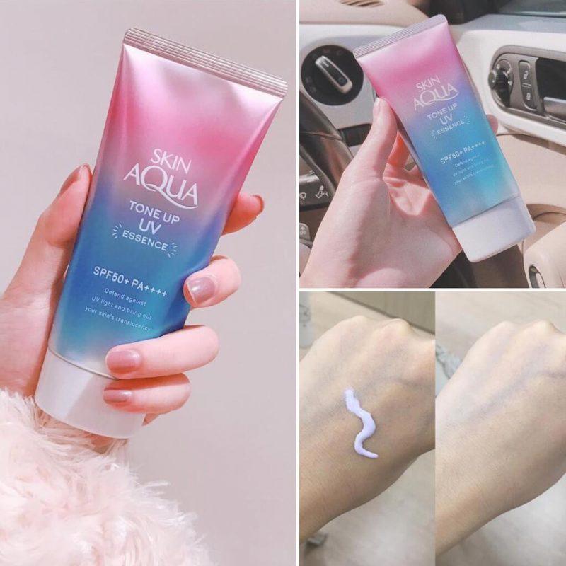 Sunplay Skin Aqua Tone Up UV Essence SPF50+ PA++++