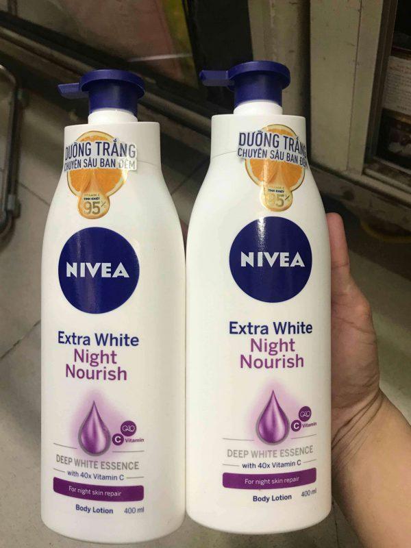 Sữa Ban Đêm Nivea 400ml