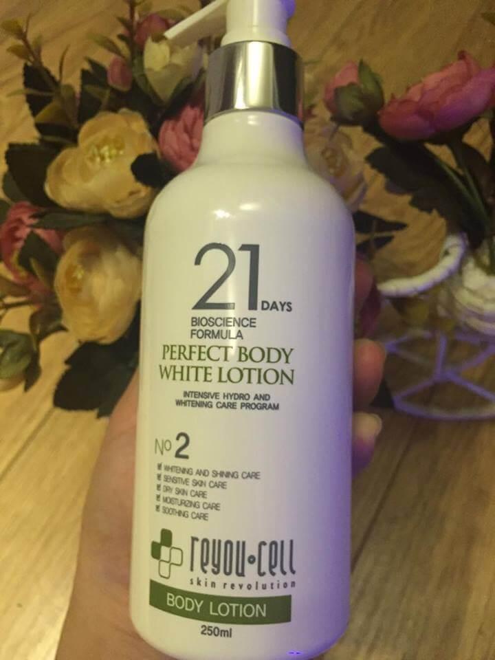 Bộ Sp Trắng Da Body Ultra Body Whitening 21days