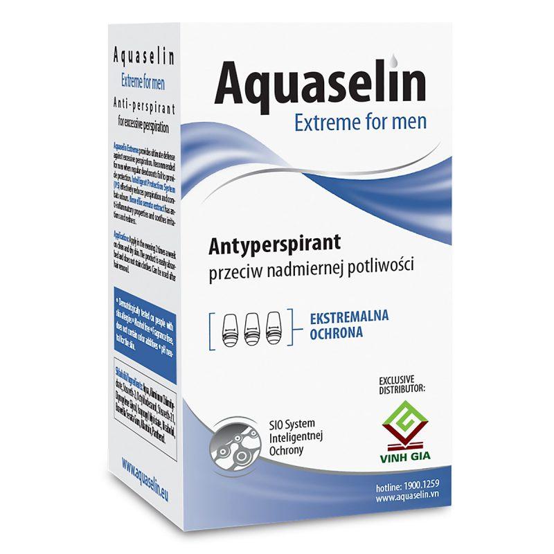 Aquaselin Extreme For Men Antiperspirant For Excessive Perspiration