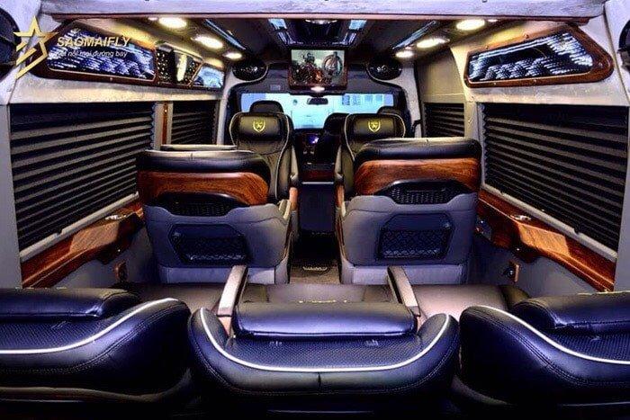 thuê xe limousine đi Vũng Tàu