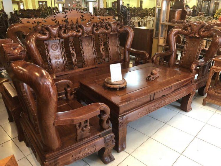 Ghế sa lông gỗ tại TPHCM