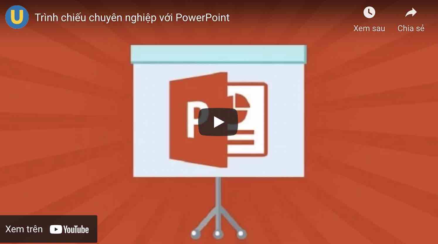 học thiết kế trình chiếu powerpoint online
