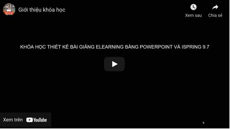 khoá học về powerpoint