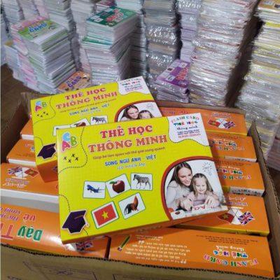 Đồ chơi thẻ học tiếng Việt