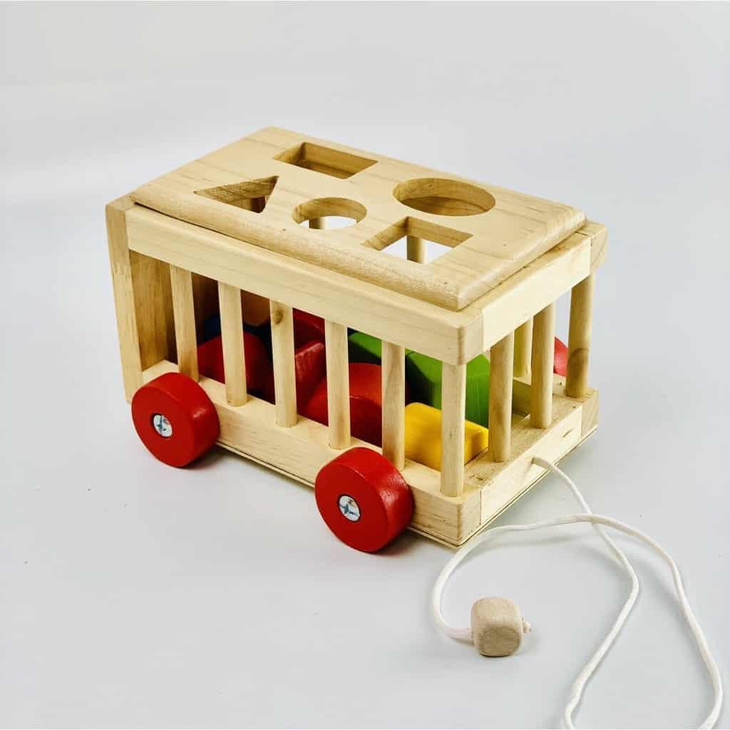 Đồ chơi xe thả gõ 3D