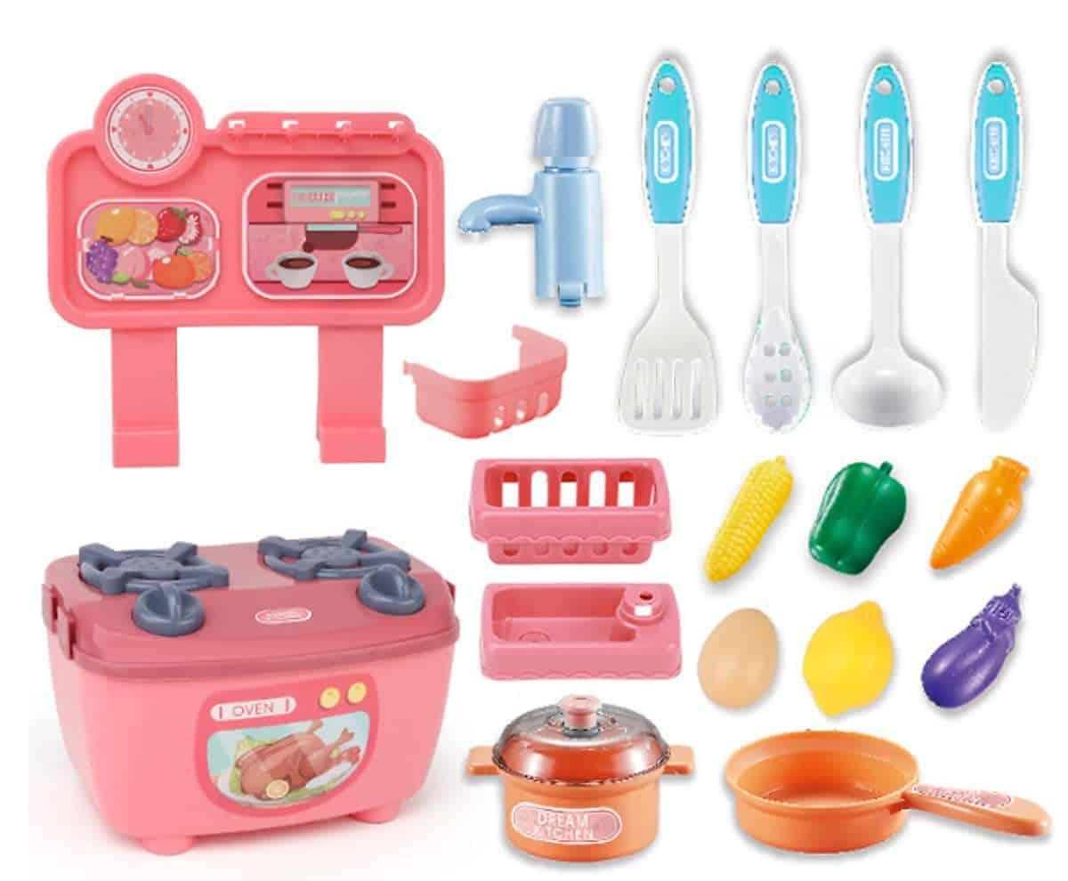 Bộ đồ chơi dụng cụ nấu ăn nhà bếp