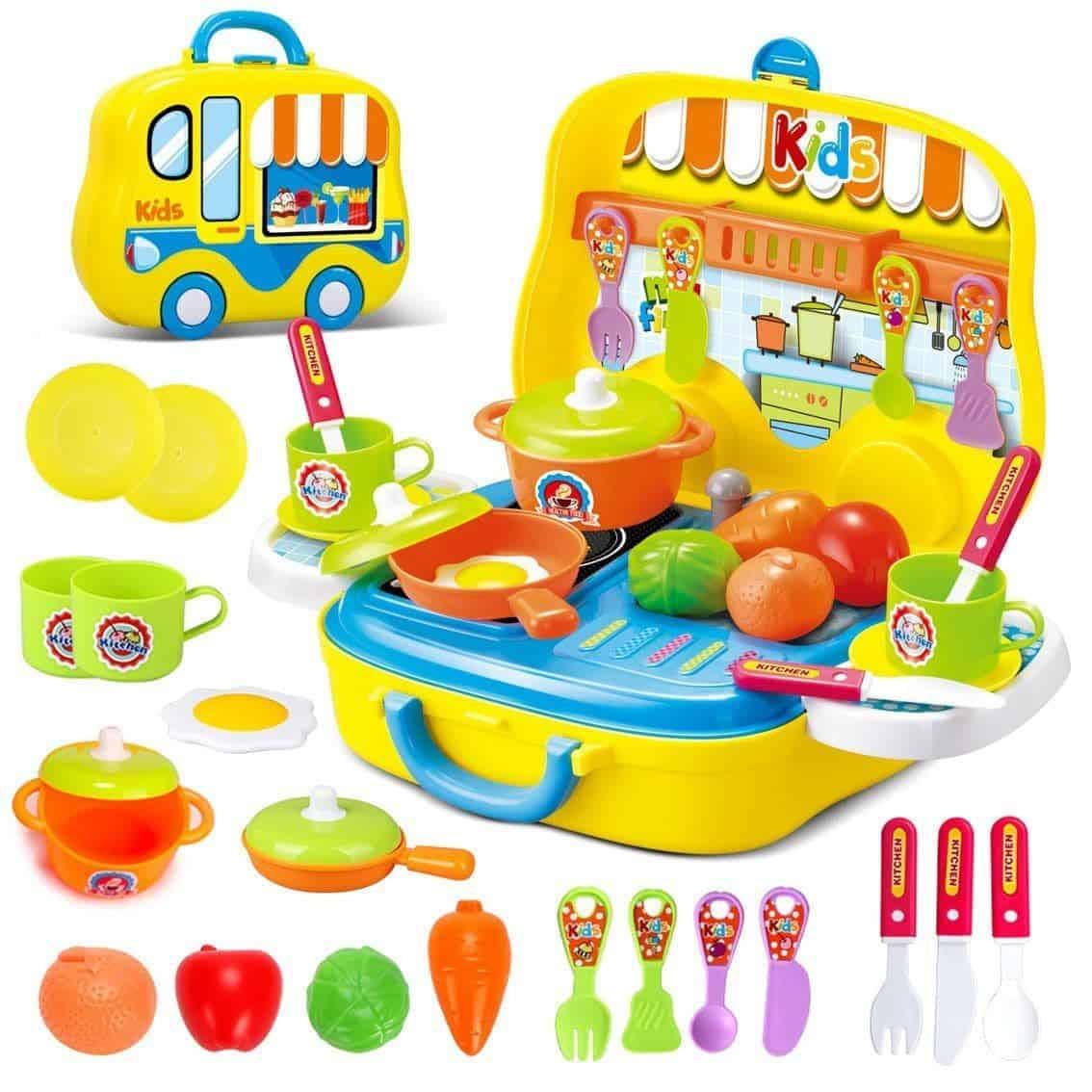 Bộ đồ chơi nhà bếp sáng tạo, vui nhộn