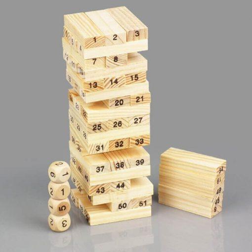 Đồ chơi rút gỗ vui nhộn