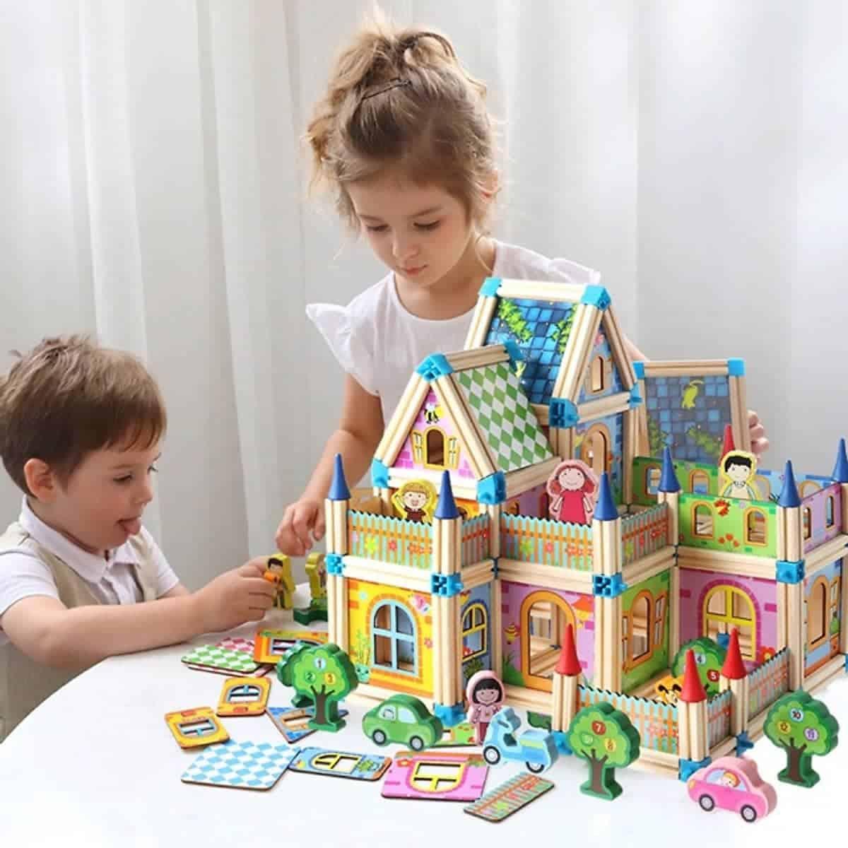 đồ chơi thông mình cho bé 4 tuổi