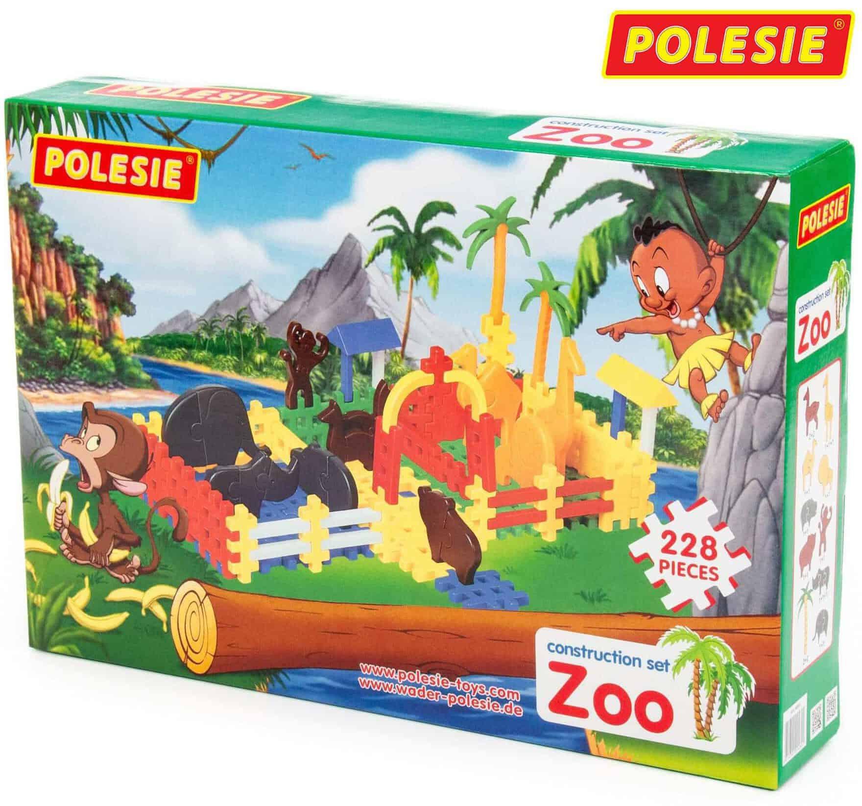 Bộ đồ chơi lắp ghép vườn bách thú