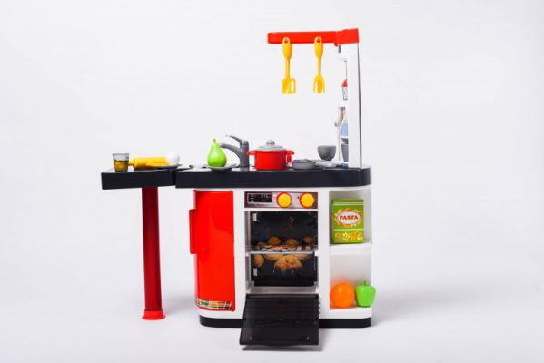 đồ chơi nhà bếp nhìn thẳng