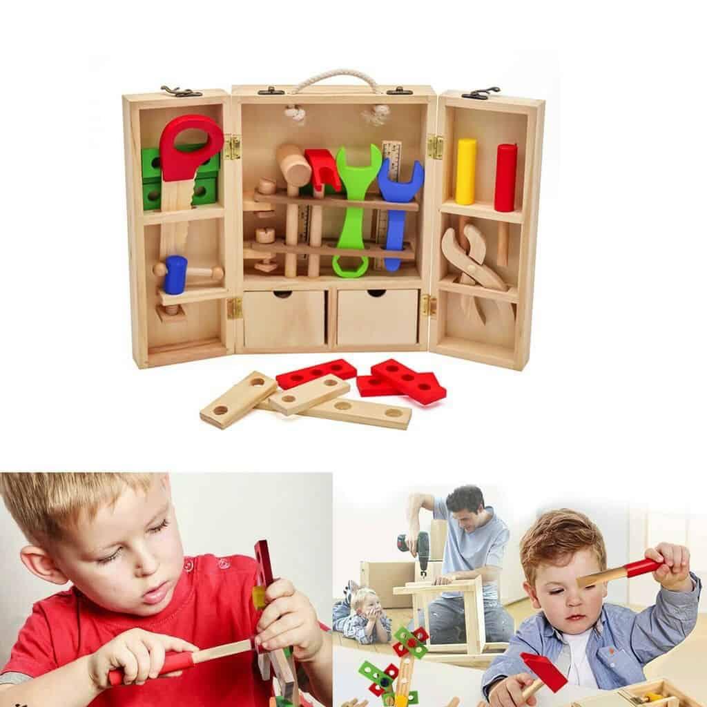 Bộ đồ chơi sửa chữa cho bé trai