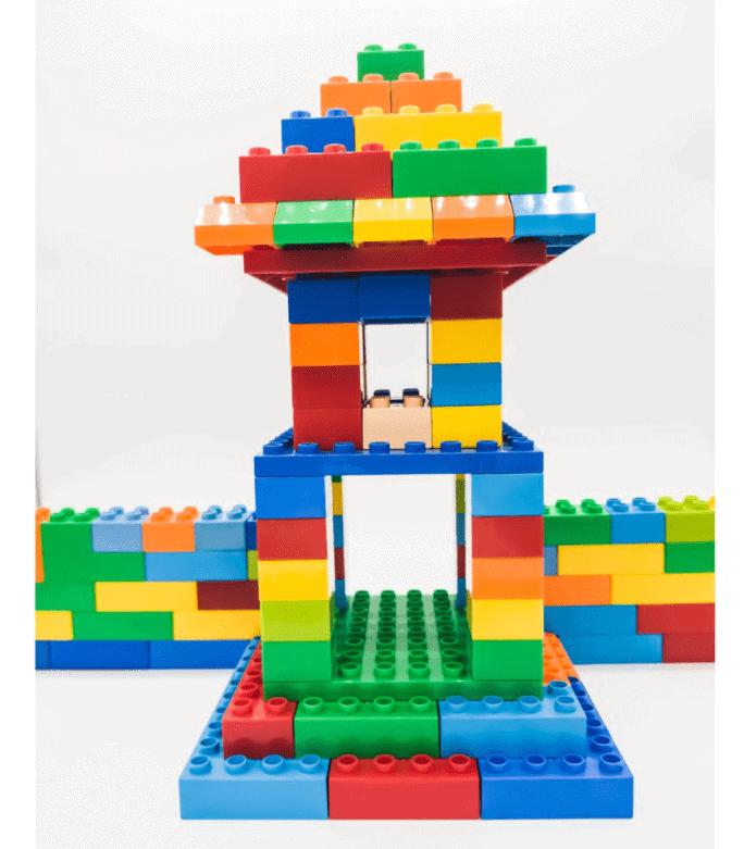 Đồ chơi lắp ghép lego 100 chi tiết