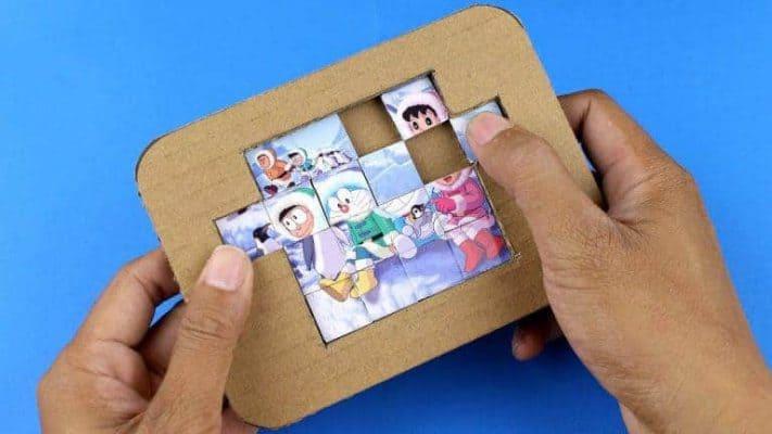 Đồ chơi xếp hình bằng giấy là gì