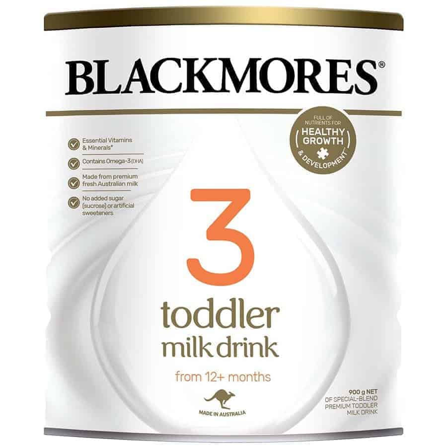 Cách pha sữa Blackmores số 3