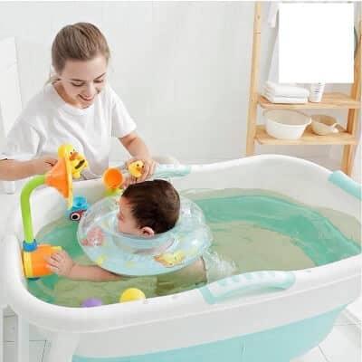 Chậu tắm cho bé loại nào tốt nhất