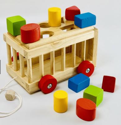 Xe thả gỗ 3D