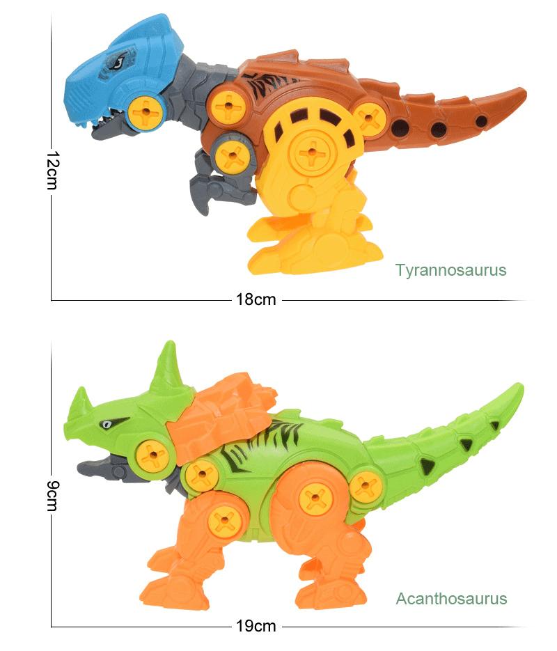 Đồ chơi mô hình khủng long lắp ghép