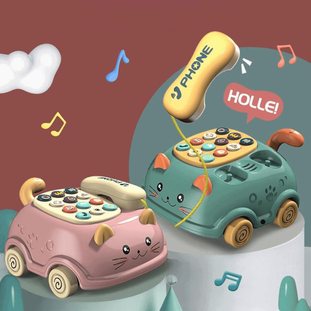 Đồ chơi điện thoại ô tô phát nhạcvui nhộn