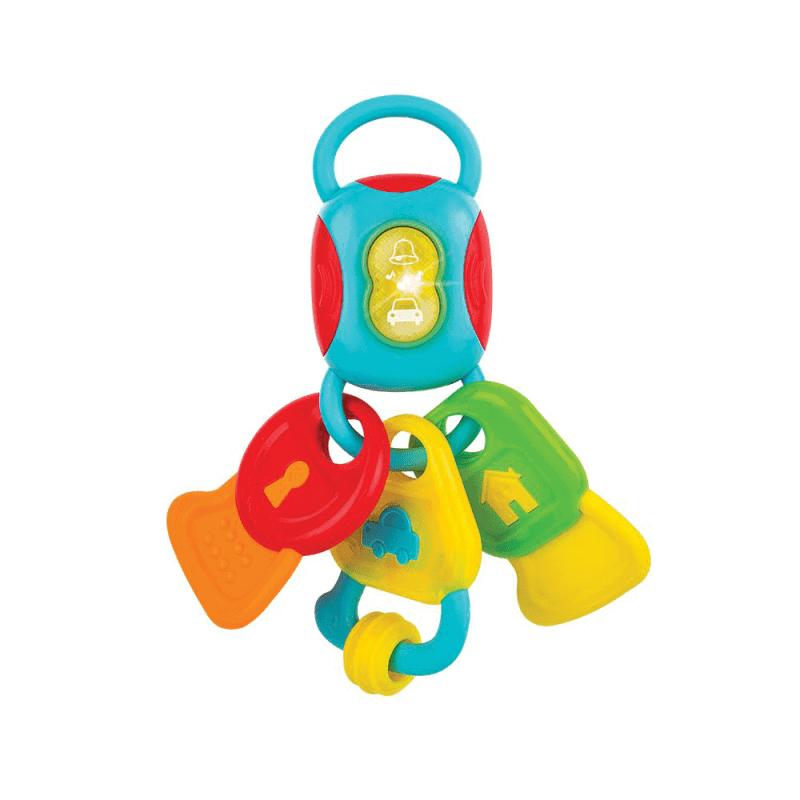 Chùm chìa khoá vui nhộn đồ chơi cho bé 6 tháng