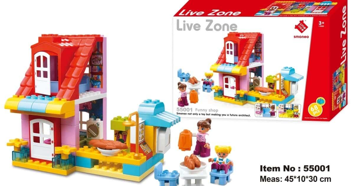 Bộ đồ chơi lắp ghép mô hình cửa hàng