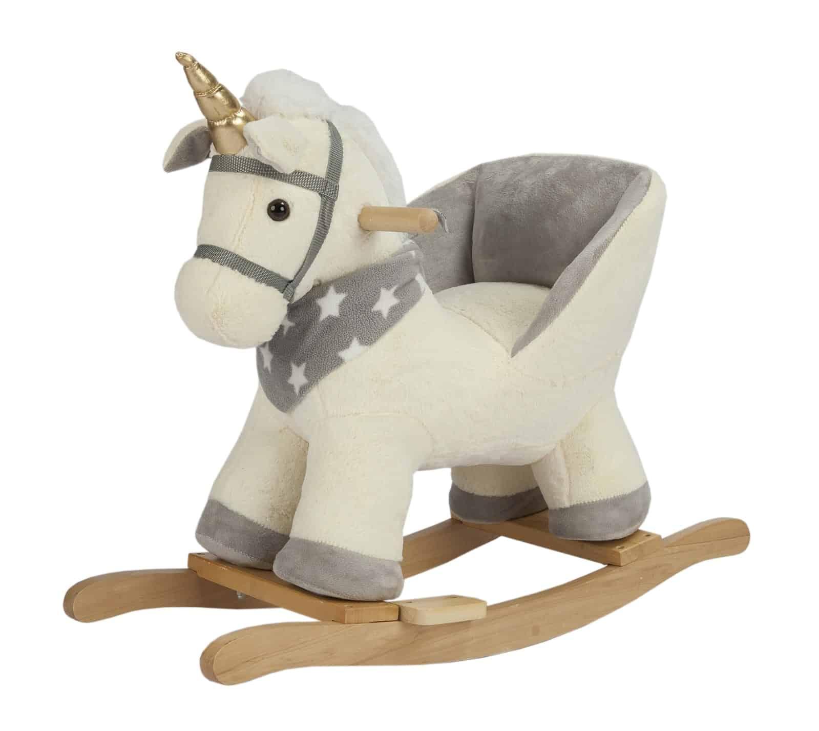 Đồ chơi ngựa gỗ nhồi bông bập bênh
