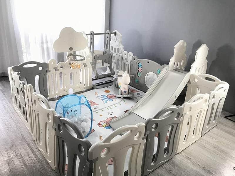 Combo đồ chơi vận động trong nhà cho bé