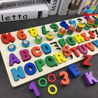 Bảng chữ cái rèn luyện trí thông minh