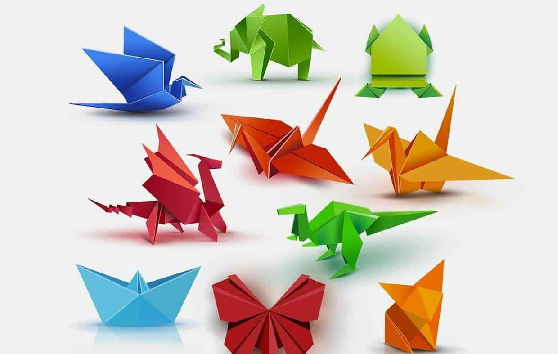 Đồ chơi sáng tạo gấp giấy origami