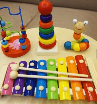 Combo 4 món đồ chơi phát triển trí tuệ