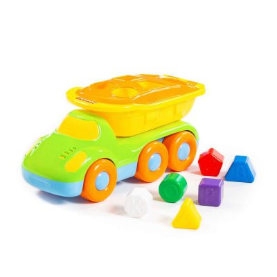 Đồ chơi thông minh cho bé 1 tuổi – Đồ Chơi Xe Tải Thả Khối Thông Minh