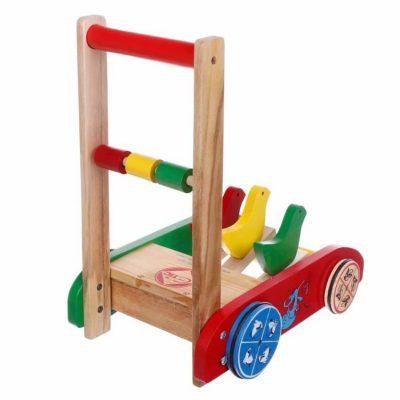 Đồ chơi thông minh cho bé 1 tuổi – Xe Tập Đi Gỗ