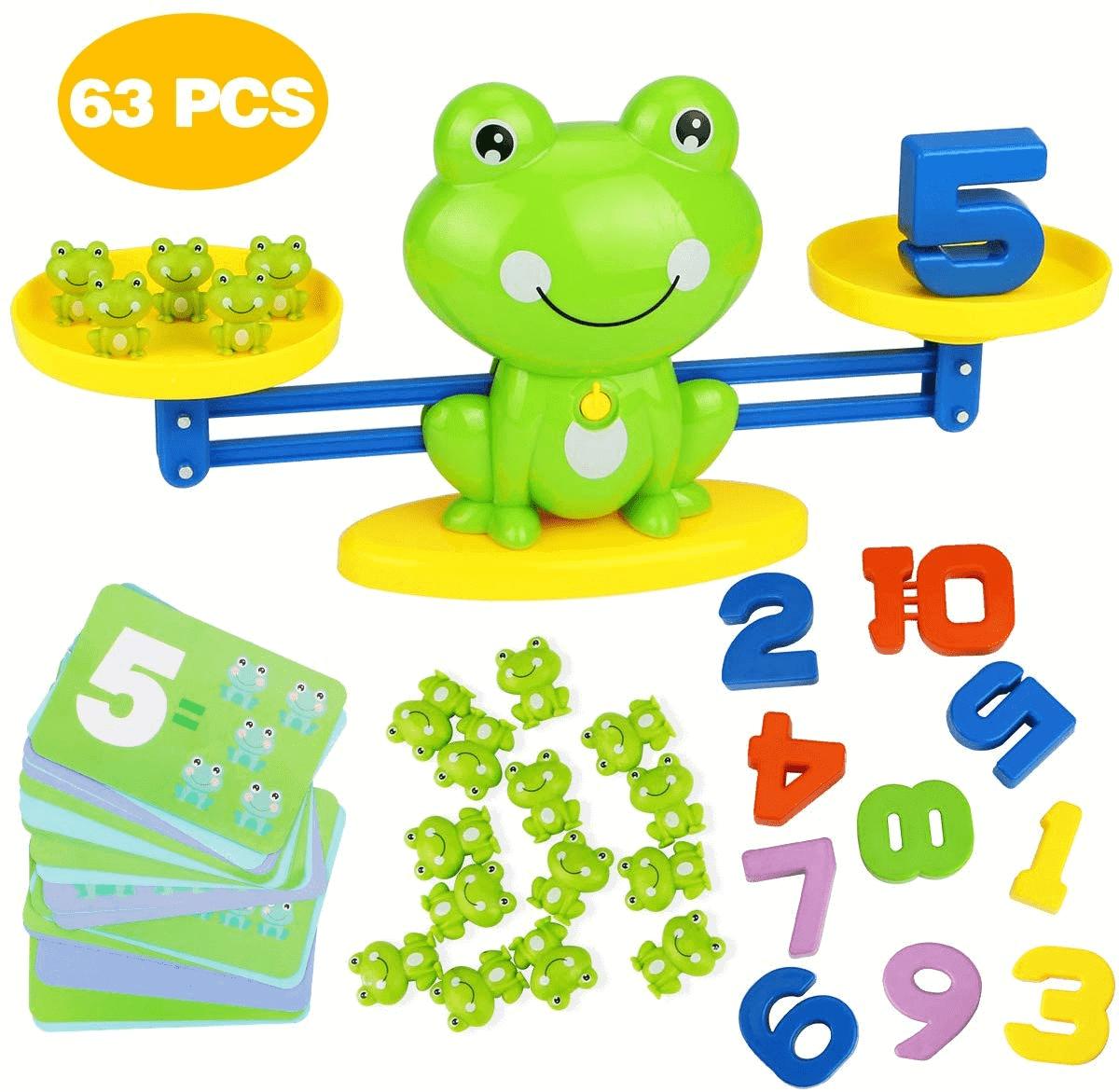 Túi đồ chơi cân bằng ếch hoạt hìnhđáng yêu